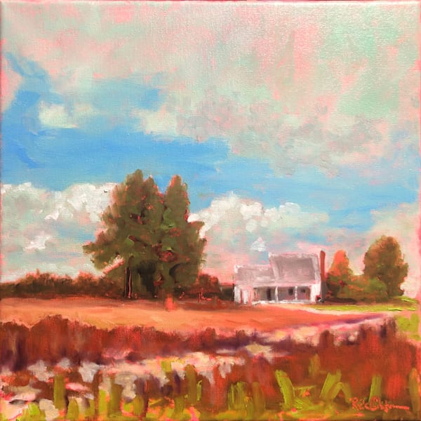 Remember When Farm | Fine Art Original Painting by Rick Osborn
