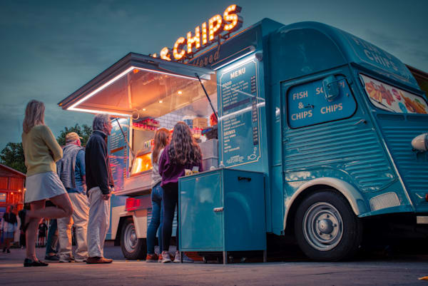 Fish And Chips On The South Bank Photography Art | Martin Geddes Photography