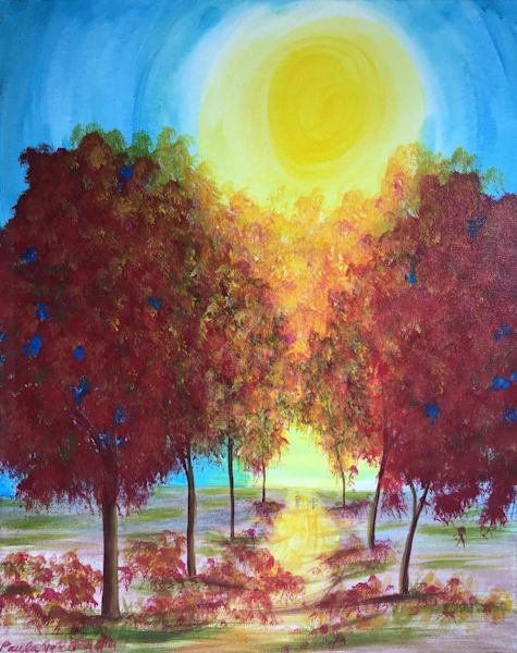 Autumn Trees Art | Manning-Lewis Studios, LLC.