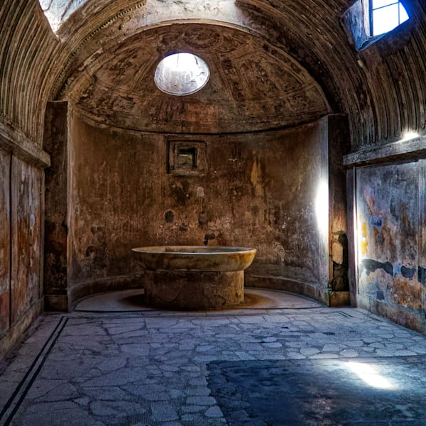 Pompei Steambath Photography Art | FocusPro Services, Inc.