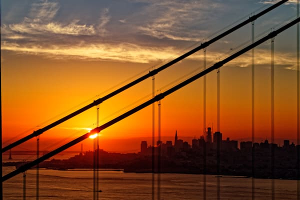 Golden Gate Sunrise Photography Art | FocusPro Services, Inc.