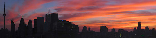 Toronto Sunset Skyline Photography Art | FocusPro Services, Inc.