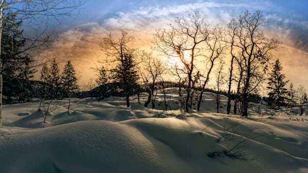 Snowy Sunrise Photography Art | Beth Sheridan, Grace Fine Art Photography