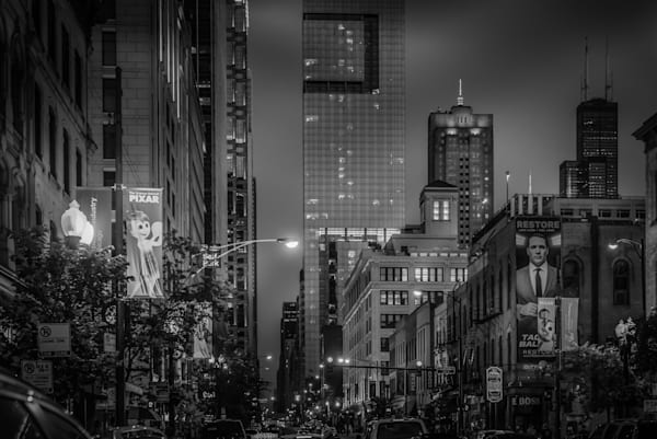 Chicago in B&W