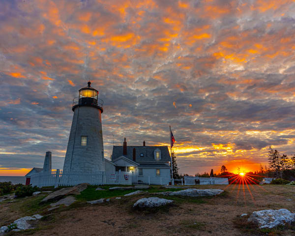 Pemaquid Point Sunburst
