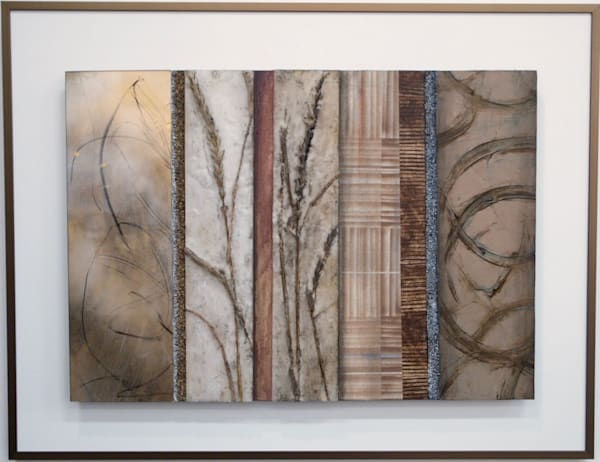 Floral Loops  (Original) Art | Laurie Fields Studio
