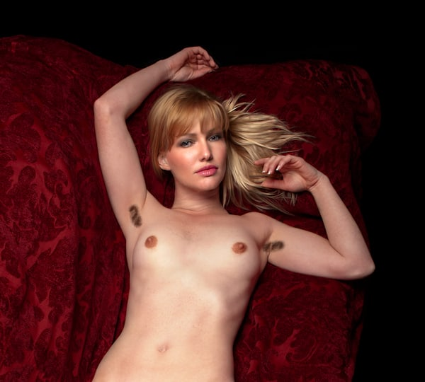 Colleen 3 - Fine Art Nude Print by Christopher Gatelock