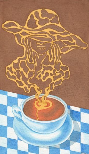 Black Coffee V Art | Damon Powell - Artist & Theologian