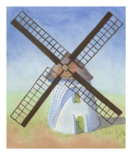 Cape Town Windmill Art | Damon Powell - Artist & Theologian