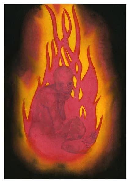 Withdrawal Art | Damon Powell - Artist & Theologian