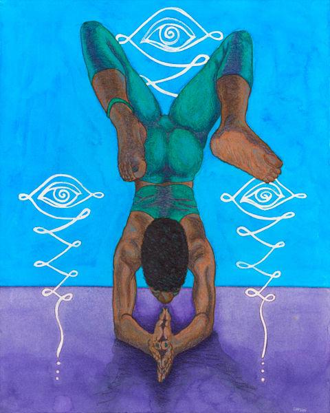 Forearm Stand Art | Damon Powell - Artist & Theologian
