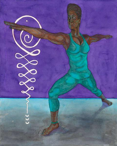 Warrior Ii Art | Damon Powell - Artist & Theologian