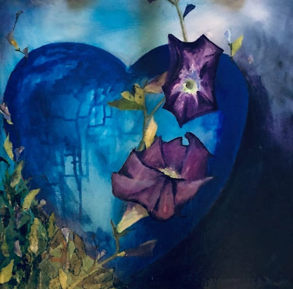 Love In Blue Art | PoroyArt