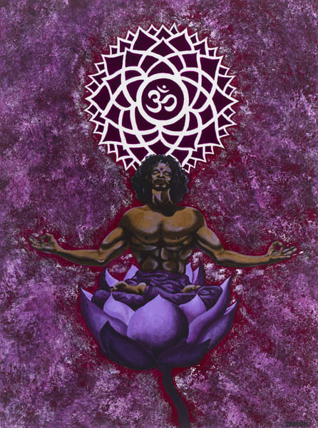 Flowering Of The Cosmic Consciousness Art | Damon Powell - Artist & Theologian