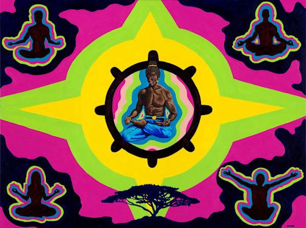 Ascenion Ii: Rise Of The Buddha Nature Art | Damon Powell - Artist & Theologian