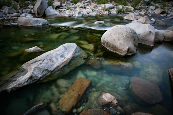 Boulders and water, South Yuba River
