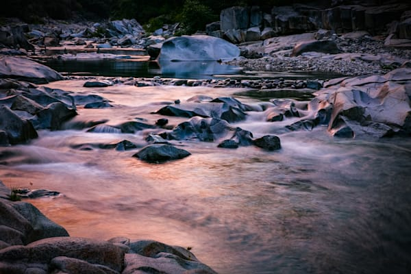 Dawn flow at the South Yuba River