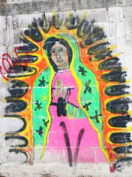 Virgin Of San Luis De La Paz Photography Art | Galeria Mañana