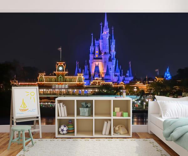 Magic Kingdom Halloween - Disney Wall Murals | William Drew Photography