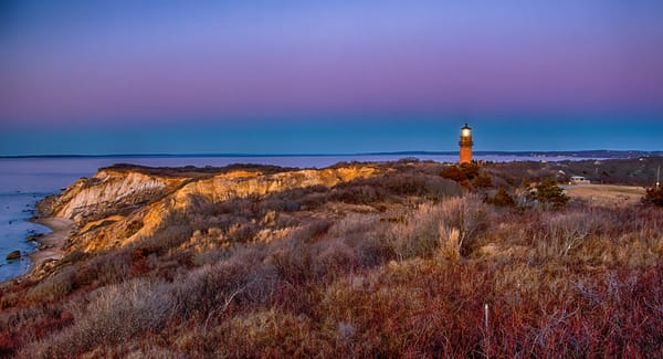 Gay Head Light Winter Art | Michael Blanchard Inspirational Photography - Crossroads Gallery