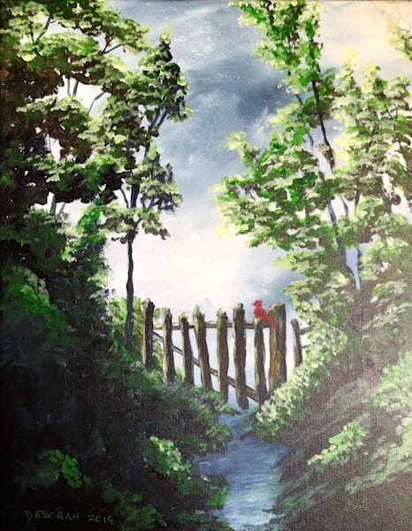 Garden Gate Art | House of Fey Art