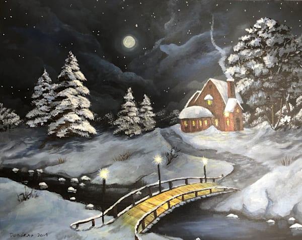 Calm Winter's Night Art | House of Fey Art