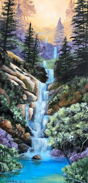 Cascade Falls Art | House of Fey Art