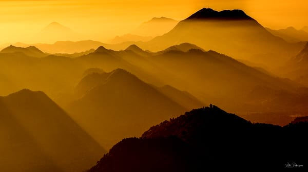 California Dusk Near Sequoia Np Photography Art | vitopalmisano