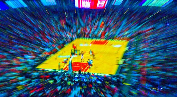 Basketball Stadium Photography Art | vitopalmisano