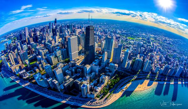 Chicago Gold Coast Sunset Photography Art | vitopalmisano