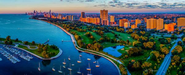 Chicago Lakefront Sunrise Photography Art | vitopalmisano