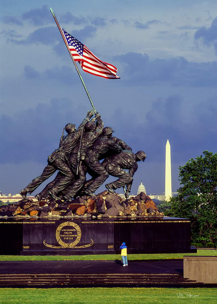 Iwo Jima Memorial Arlington, VA.
