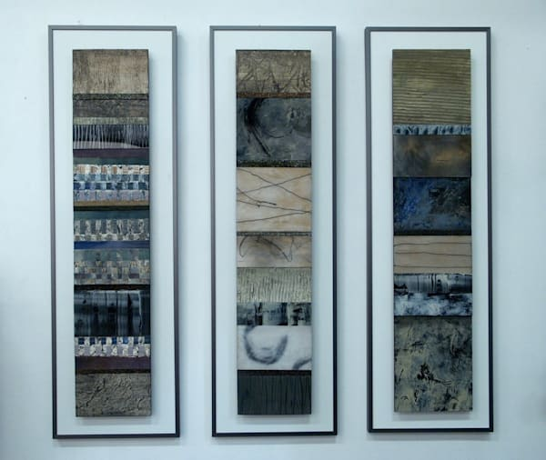 Vertical Stripe Series  (Originals) Art | Laurie Fields Studio