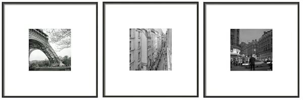 Paris Triptych, 1993 - Limited Edition by Thomas Wyckoff