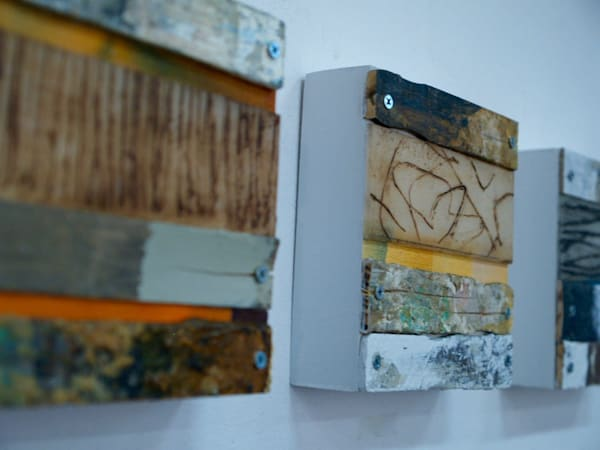 Paint Stirrer Series  (Originals) Art | Laurie Fields Studio