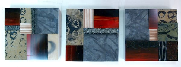 Small Square Series  (Originals) Art | Laurie Fields Studio