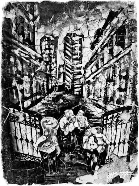 """Rebirth Of Lost Memories"" (Secondline Band Procession) Art | Jamila Art Gallery"
