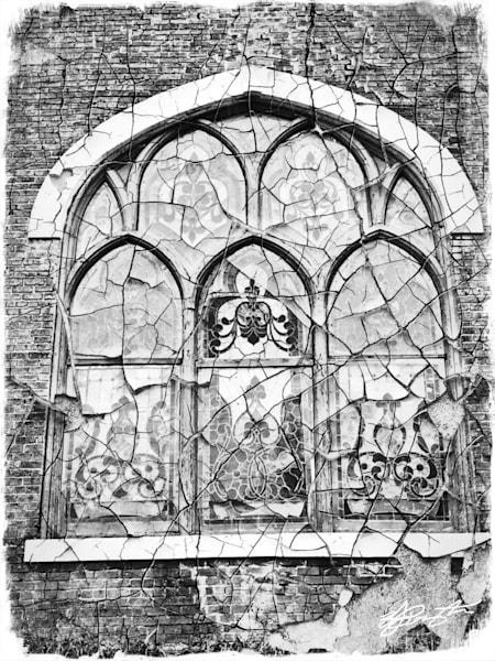 """Rebirth Of Lost Memories""(Stain Glass Window Of Grace) Art | Jamila Art Gallery"