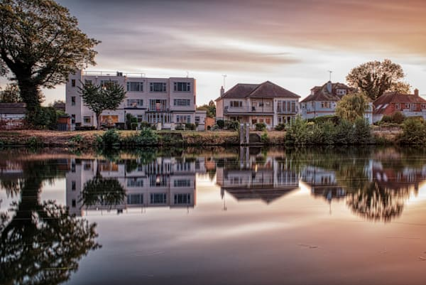 Evening In Staines Upon Thames Photography Art | Martin Geddes Photography
