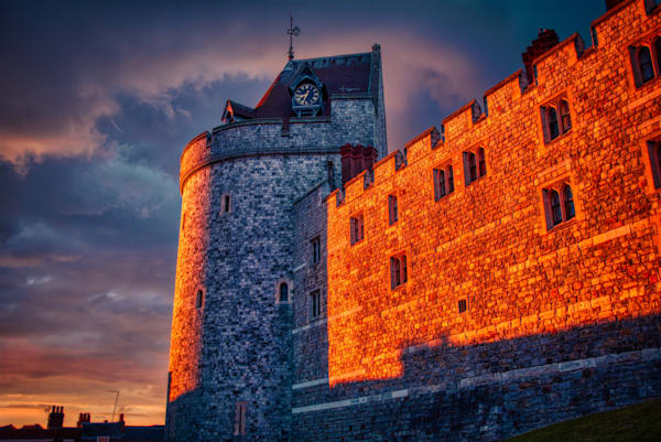 Storm Over Windsor Castle Photography Art | Martin Geddes Photography