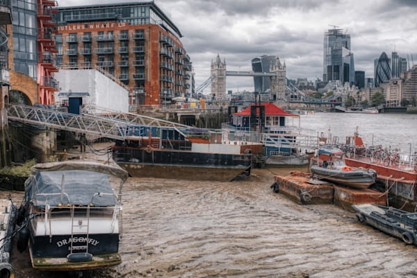 City Of London From Bermondsey Photography Art | Martin Geddes Photography