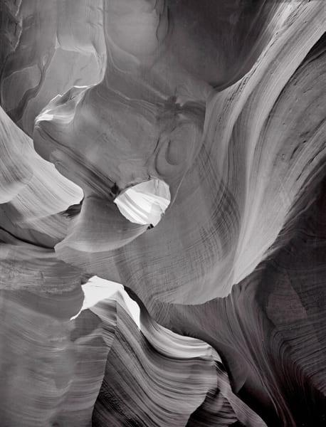 Slot Canyons   Black and White
