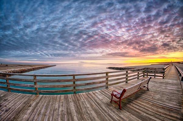 Jaws Bridge Winter Clouds Photography Art | Michael Blanchard Inspirational Photography - Crossroads Gallery