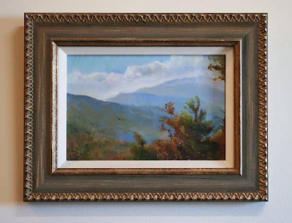 Linville Gorge Autumn, Wiseman's View - Oil Painting for Sale - Blue Ridge Mountain Landscape - Art of Jason Rafferty - Asheville NC
