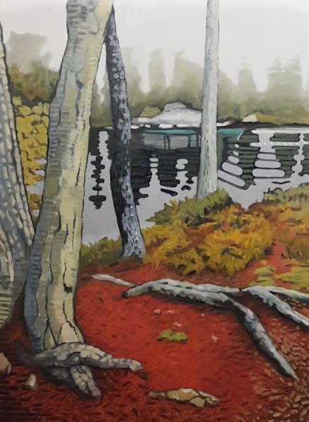 Fawn Island View - Print by Mark Granlund