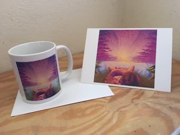 Sunset Sacrament Cup   | markhensonart