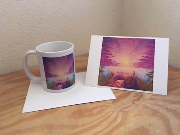 Sunset Sacrament Cup