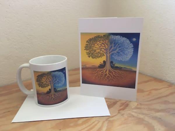 Django's Tree Cup | markhensonart
