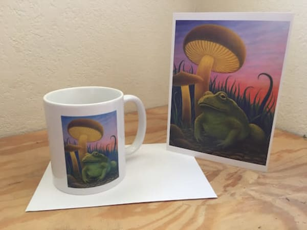 Magic Toad Cup | markhensonart