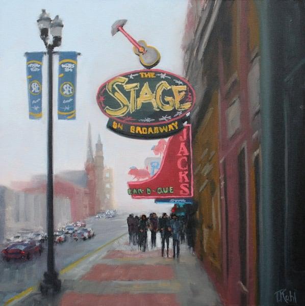 All The World's A Stage Art | Thalia Kahl